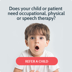 Occupational, physical or speech therapy